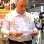 Marcus Sammet auf der Buchmesse Leipzig