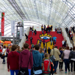 Leipziger Buchmesse: Eingangsbereich